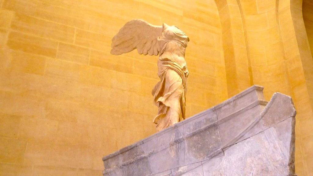 Victoria alada de Samotracia. Louvre.