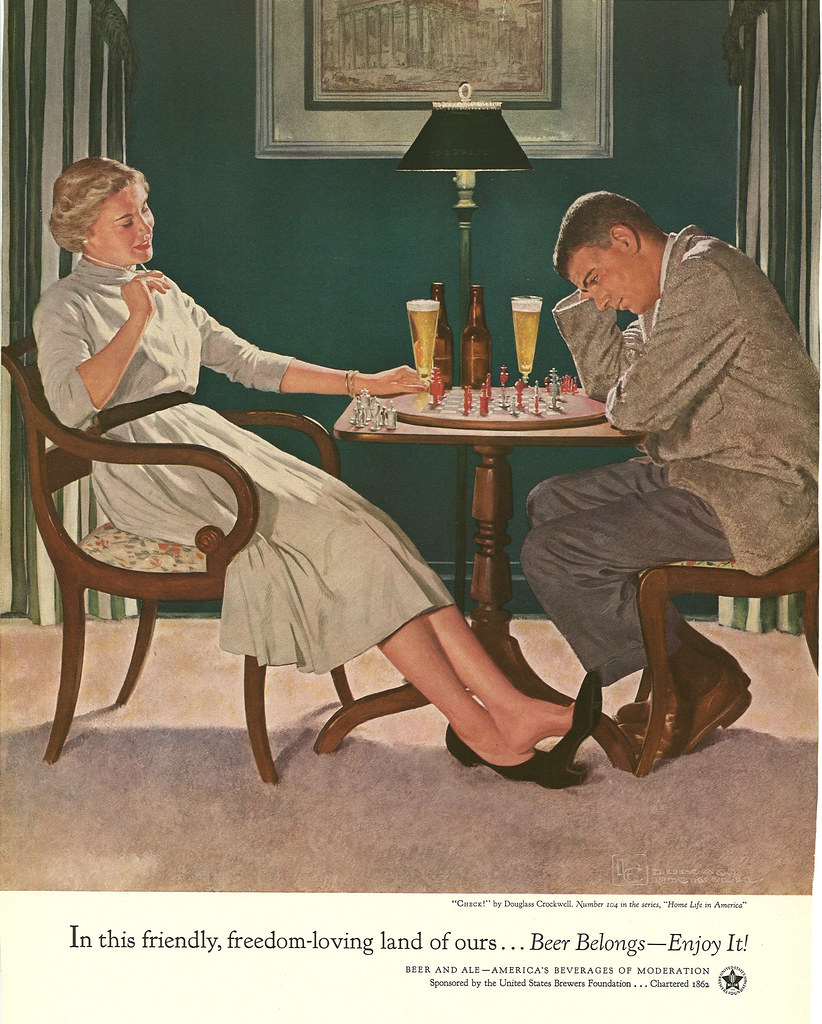 104. Chess by Douglass Crockwell, 1955
