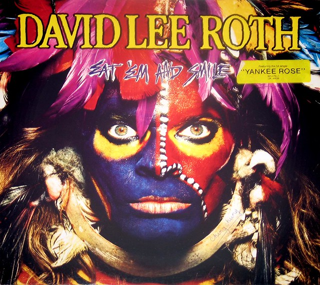 DAVID LEE ROTH Eat 'Em and Smile Steve Vai
