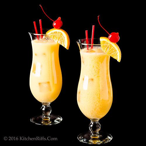 Pusser's Painkiller Cocktail