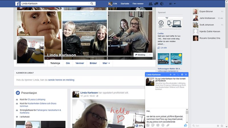 linda karlsson facebook