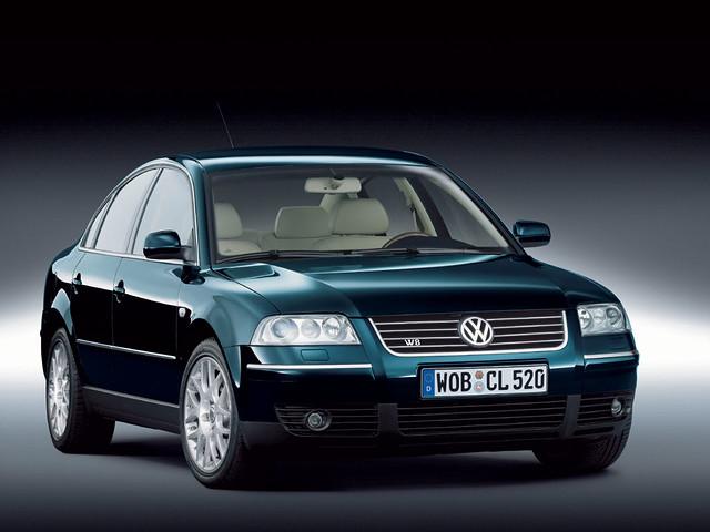Седан Volkswagen Passat B5. 1997 - 2000 годы