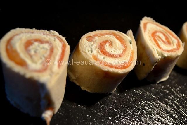 Bouchées de Tortilla Saumon Fromages Fines Herbes © Ana Luthi Tous dorits réservés 005