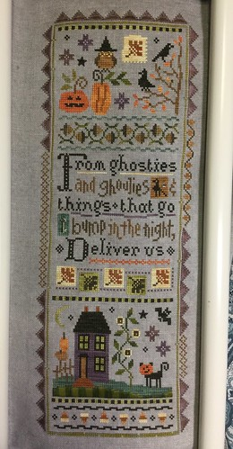 Halloween Mystery Sampler by Lizzie*Kate