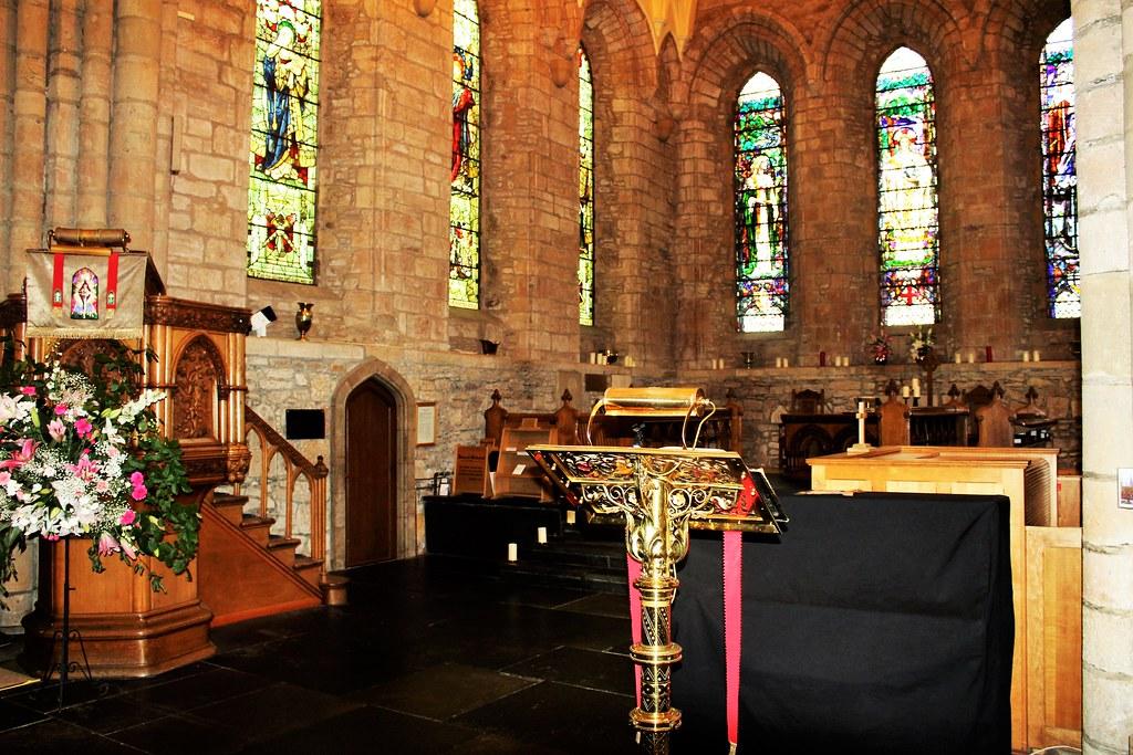 Inside Dornoch Cathedral, Sutherland, Scotland