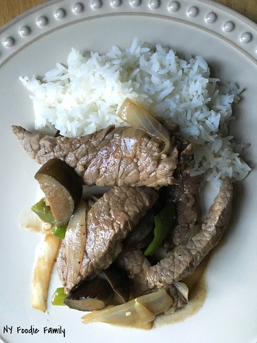 Stir Fried Steak