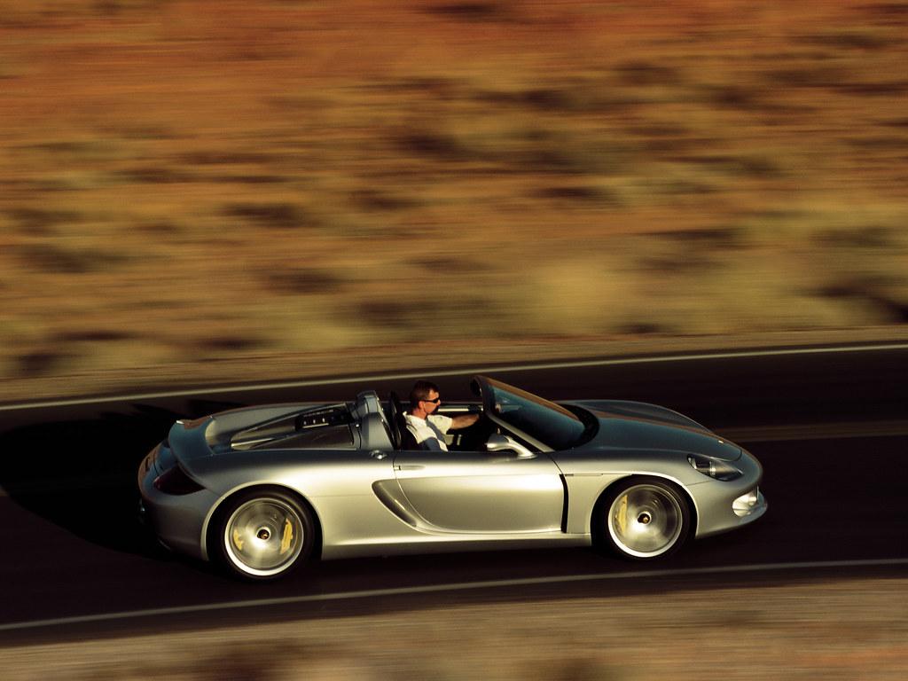 Porsche Carrera GT Concept (кузов 980). 2000 год