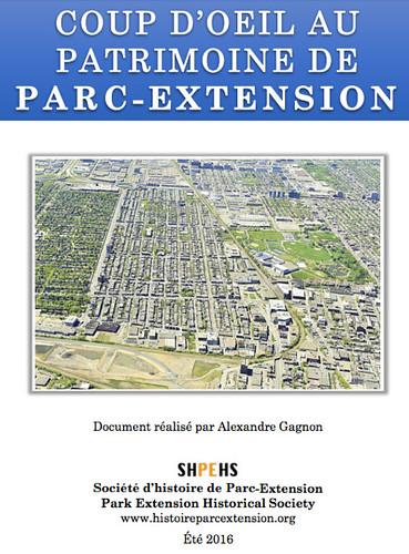 Rapport du Patrimoine de Parc-Extension