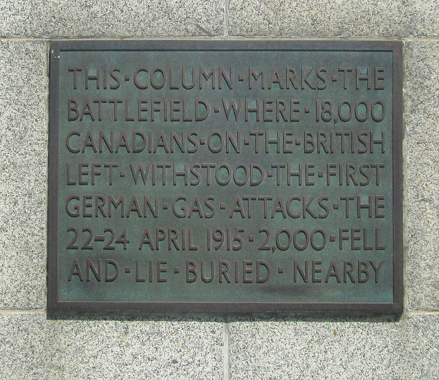 The Brooding Soldier Dedication Plaque