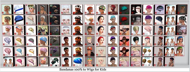 Bandanas for Bandana Day 31st July