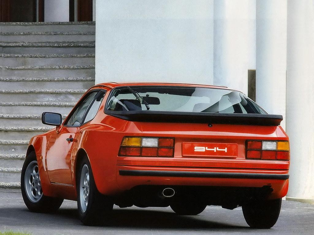 Porsche 944 Coupe. 1982 – 1989 годы