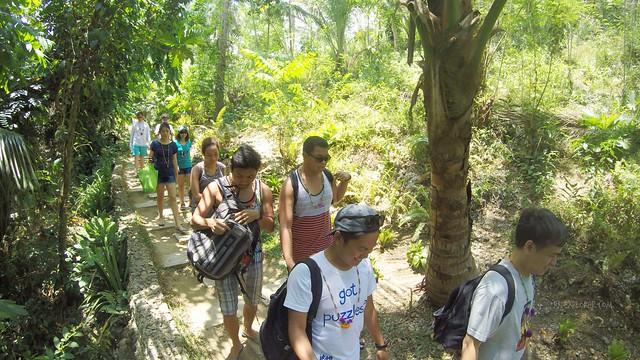 short trek to bojo river