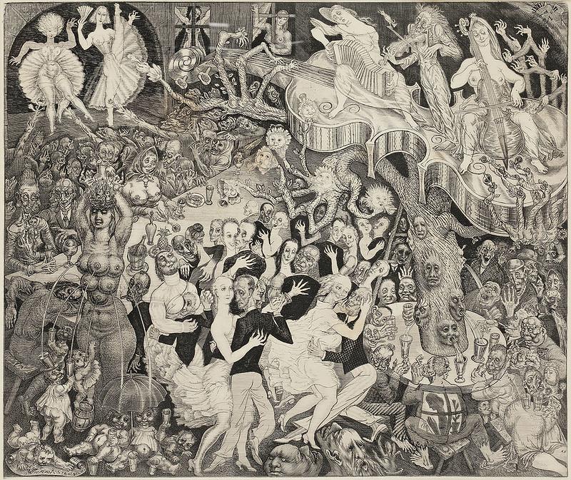 Eduard Wiiralt - Cabaret, 1931