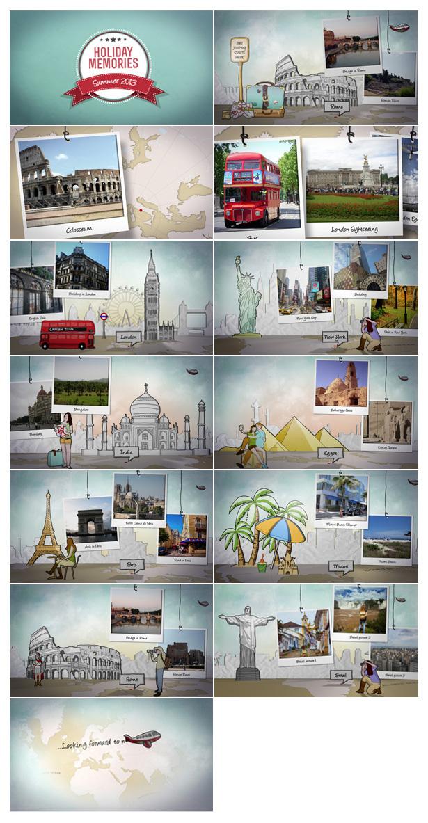 Around the World Travel Memories - 3