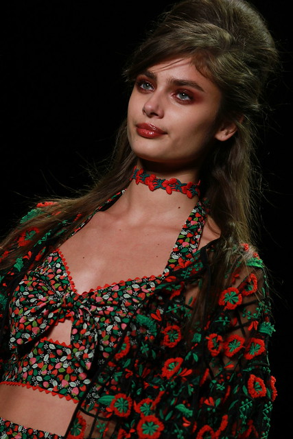 NYFW SPRING-SUMMER 2017- SNEAK PEEK ANNA SUI 003