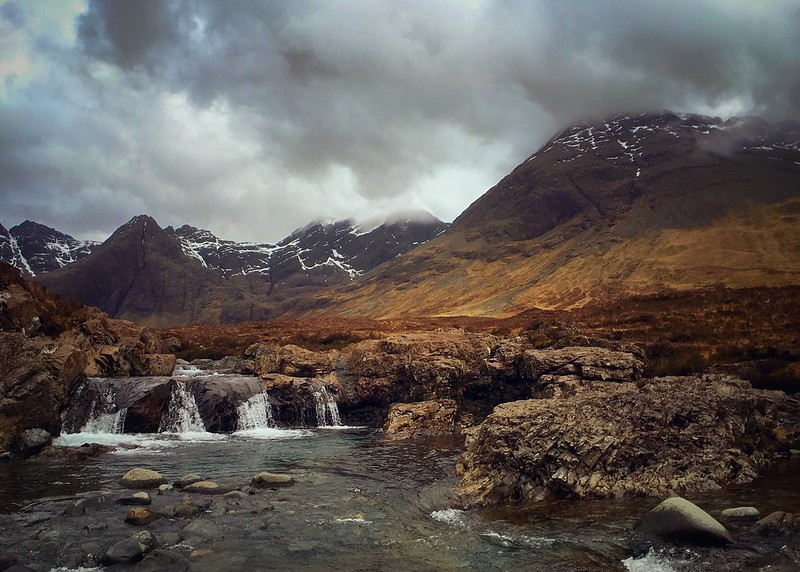 The Cullin Hills, from Glen Brittle, Isle of Skye