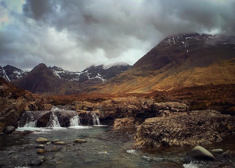 The Cullin Hills, from Glen Brittle, Isle of Skye