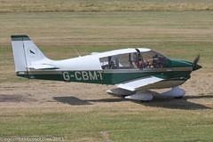 G-CBMT - 2002 CAB built Robin DR400/180 Regent, taxiing for departure at Barton