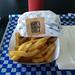 Rick's Good Eats - the burger and fries