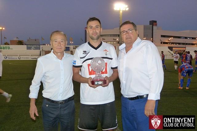 Ontinyent CF 3 - Yeclano Deportivo 1 - Trofeu Ciutat d'Ontinyent 2016