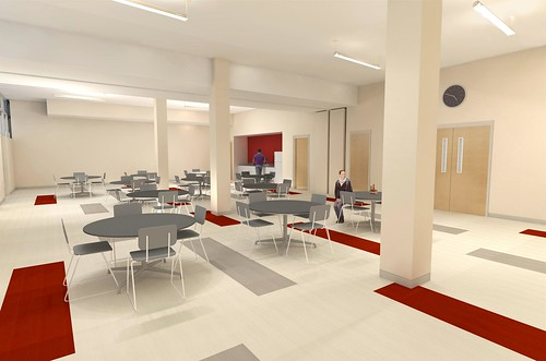 Hartsell Recreation Center renovation renderings