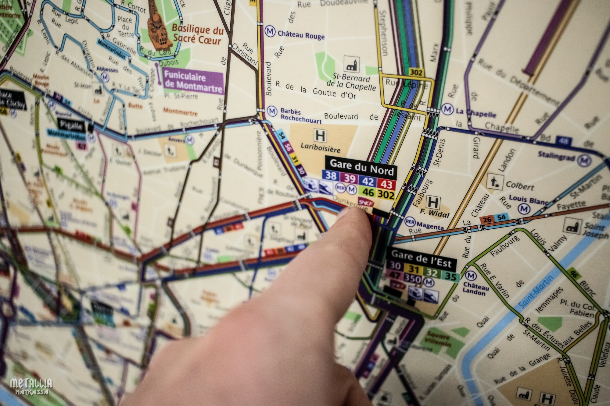 pariisi, pariisin metro, paris metro, gare du nord