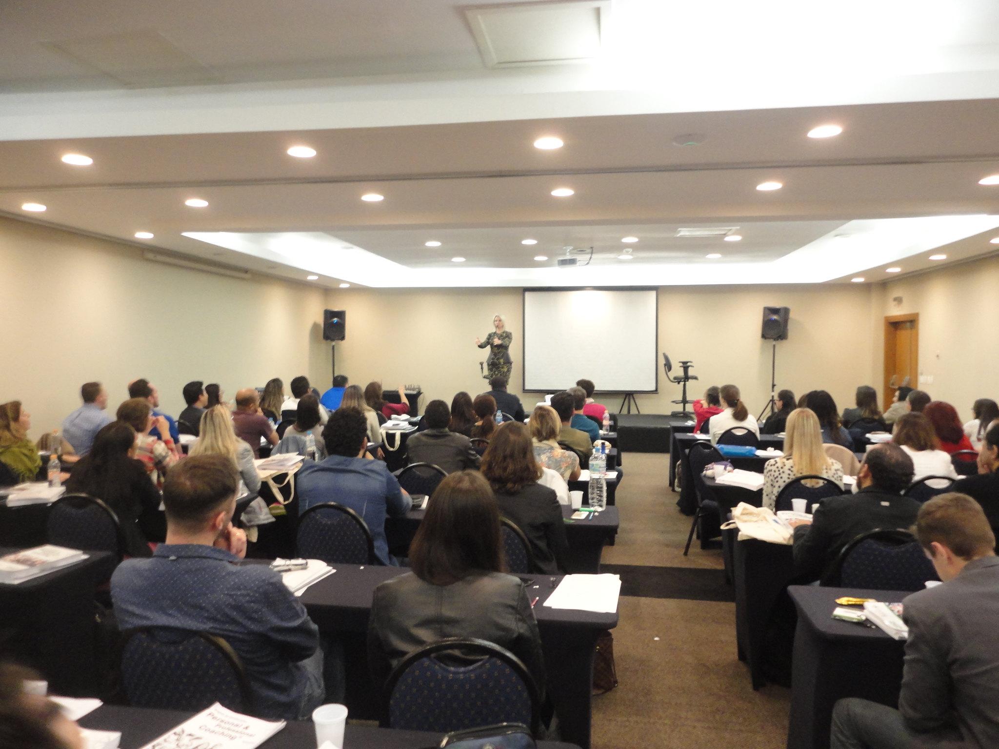 Participantes em curso de coaching