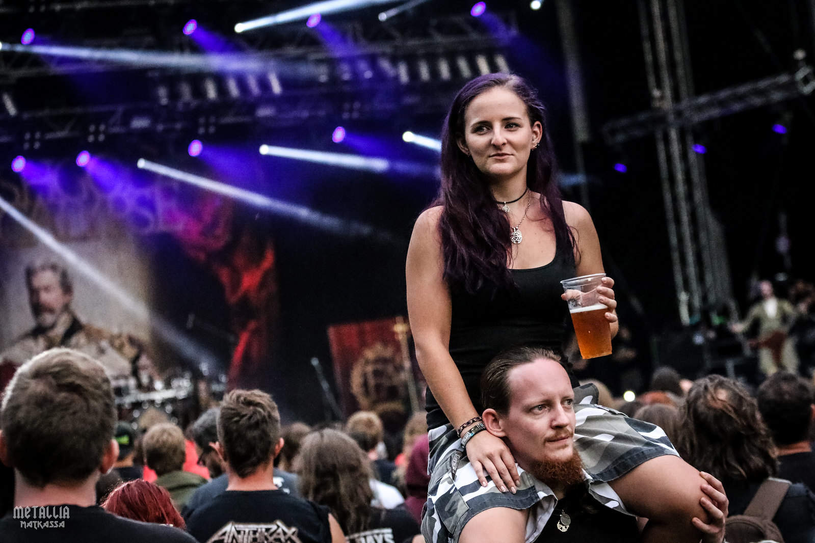 metaldays 2016, metaldays, metalcamp, metal festival, tolmin, metalheads, metal girl, fleshgod apocalypse