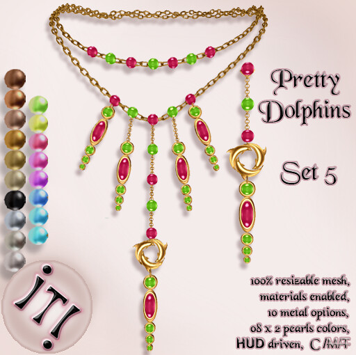 !IT! - Pretty Dolphins Set 5 Image
