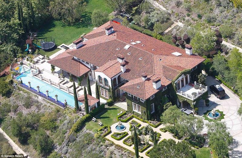 Недвижимость Хайди Клум в Брентвуде, Лос-Анджелес