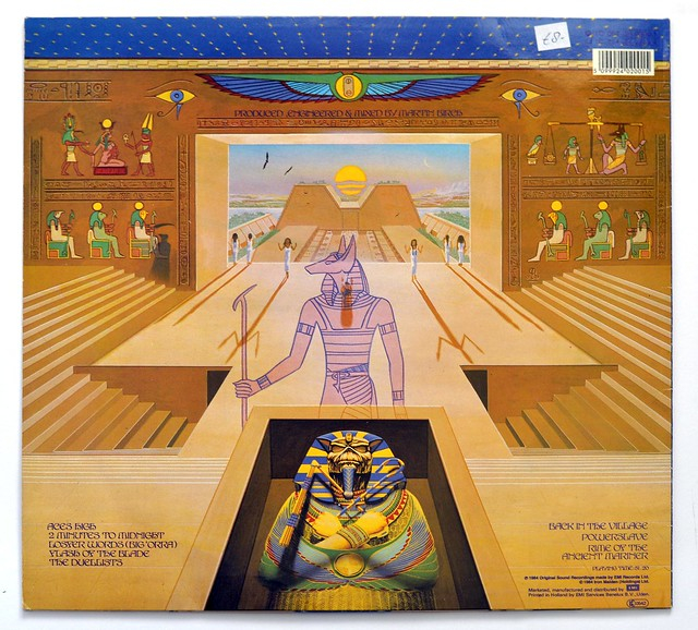 A0303 Iron Maiden Powerslave