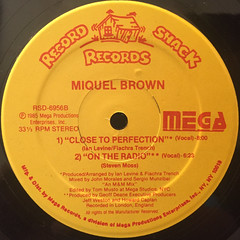 MIQUEL BROWN:INE HUNDRED PERCENT(LABEL SIDE-B)