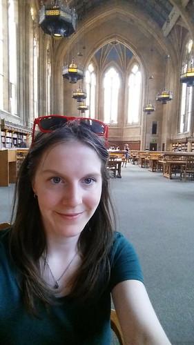Suzzallo Library Selfie, University of Washington