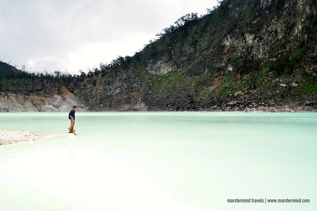 marxtermind at Kawah Putih Indonesia