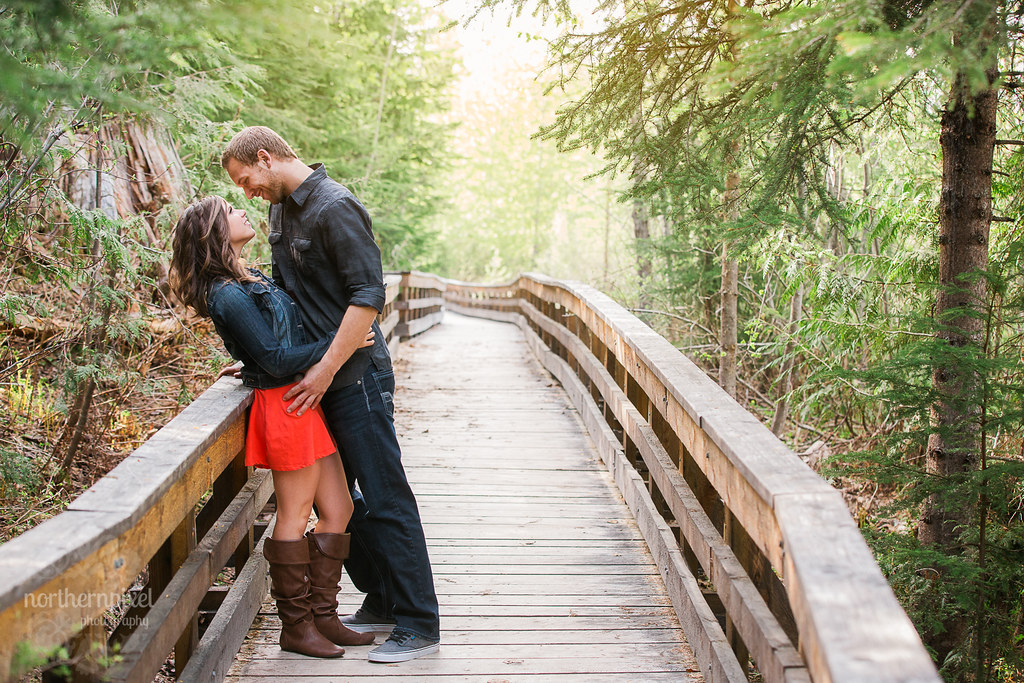 Engagement Session - Ancient Forest Boardwalk