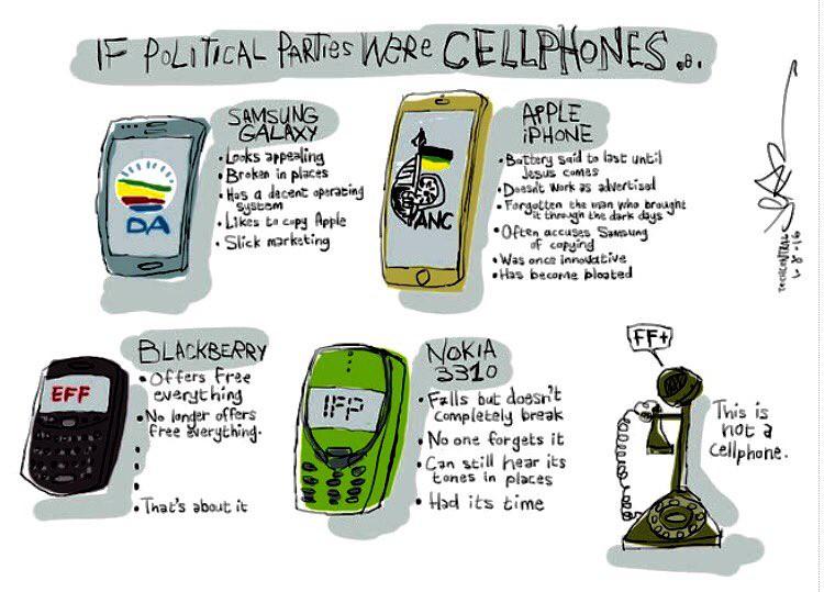 SA Elections Phones