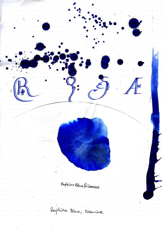 Diamine Saphire Blue-3