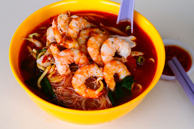 Jalan Loke Yew Prawn Mee Red Leaf