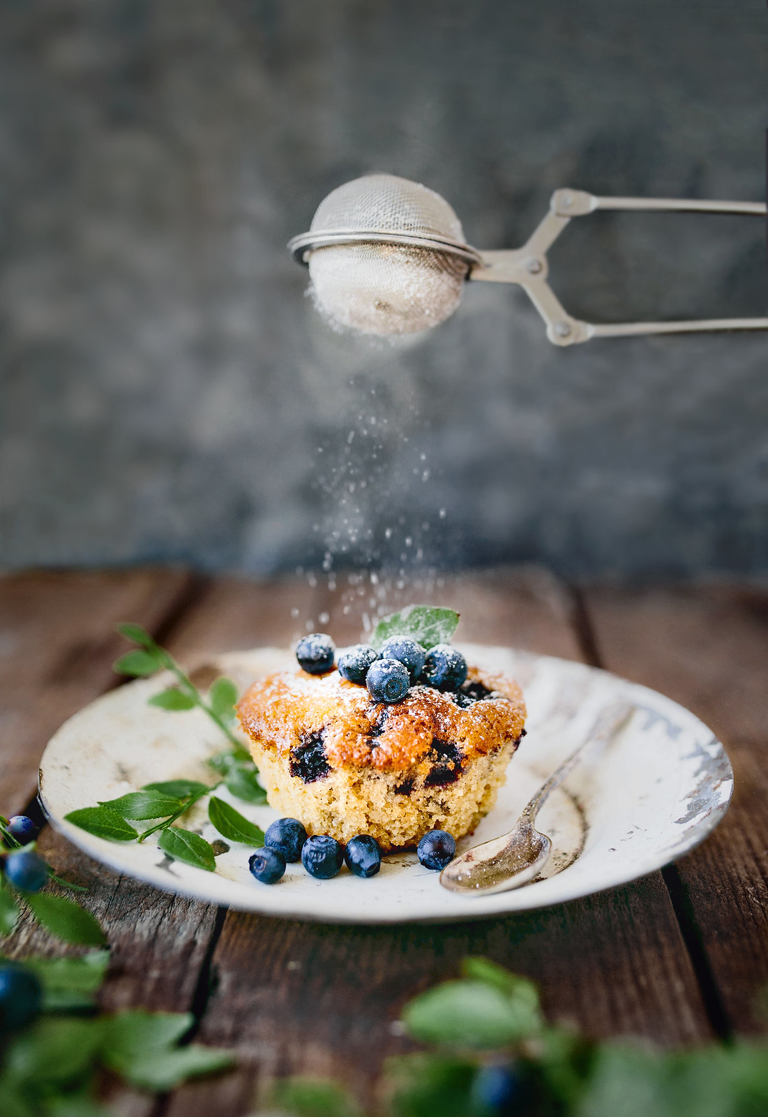 Gluten free Blueberry Muffin / Glutenfria Blåbärsmuffins - Evelinas Ekologiska