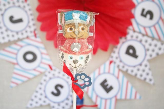 Decoracion cumpleaños Patrulla Canina Merboevents.com