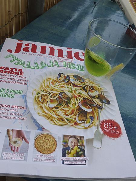 Jamie en Italie