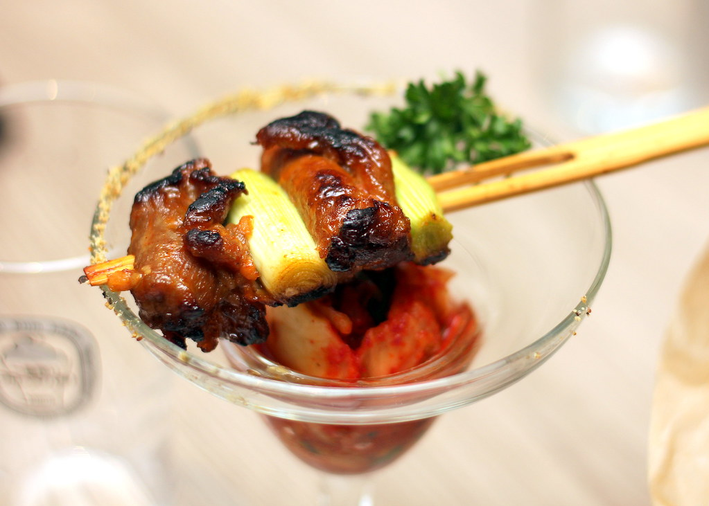 Four Points: The Best Brew - Grilled Pork With Homemade Kimchi