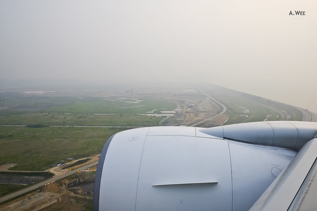Landing at Seoul Incheon