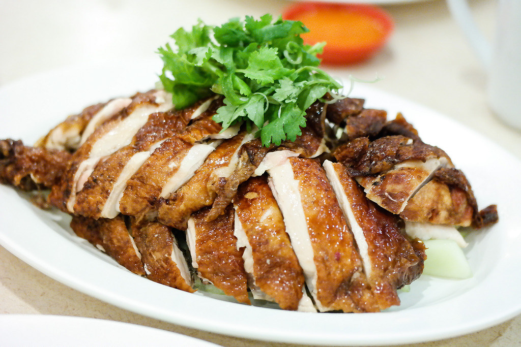 Michelin Bib Gourmand: Tian Tian Hainanese Roasted Chicken Rice