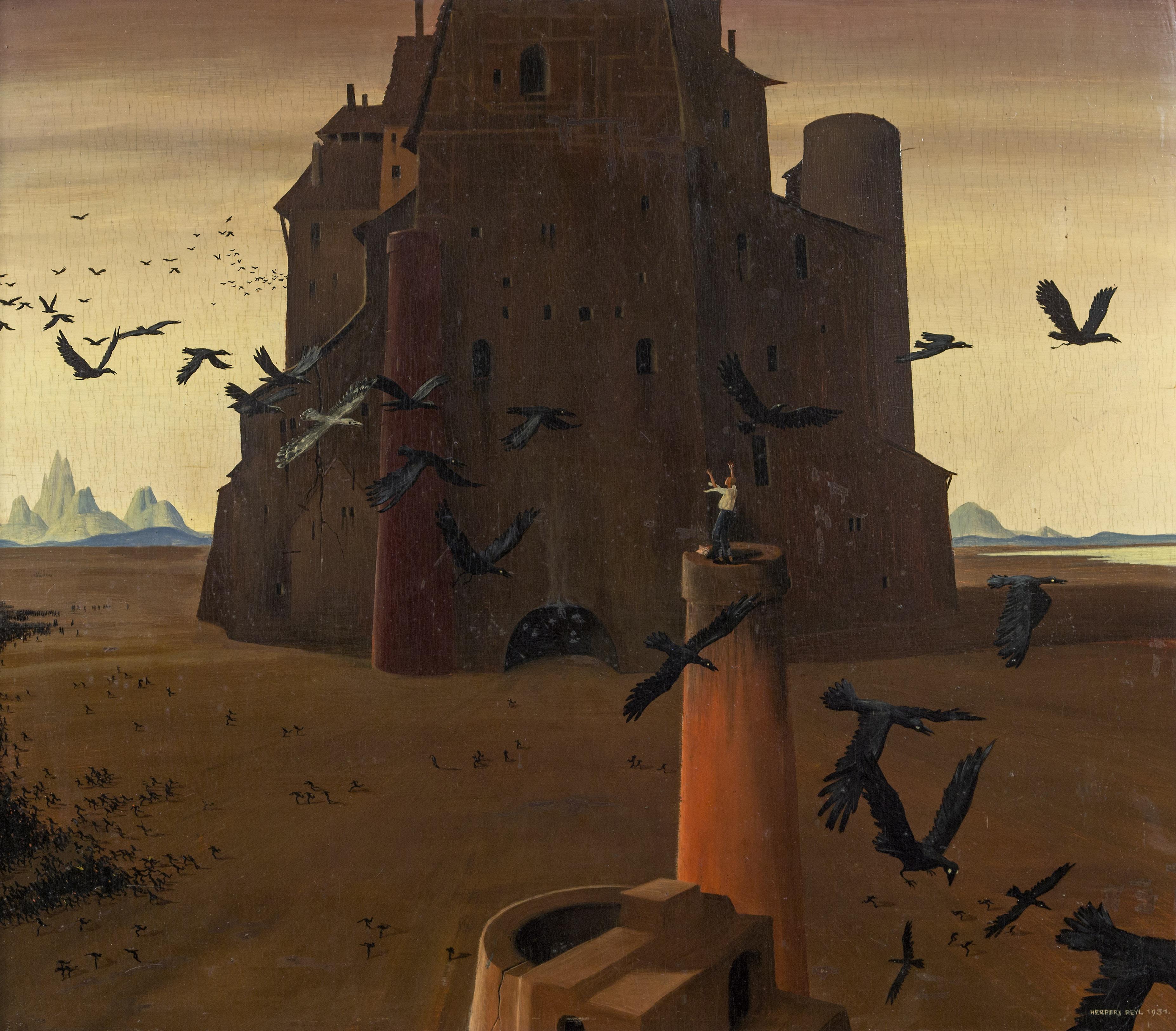 Paintings by Neo-Realist Herbert von Reyl-Hanisch 28371496362_8d9da9c8bd_o