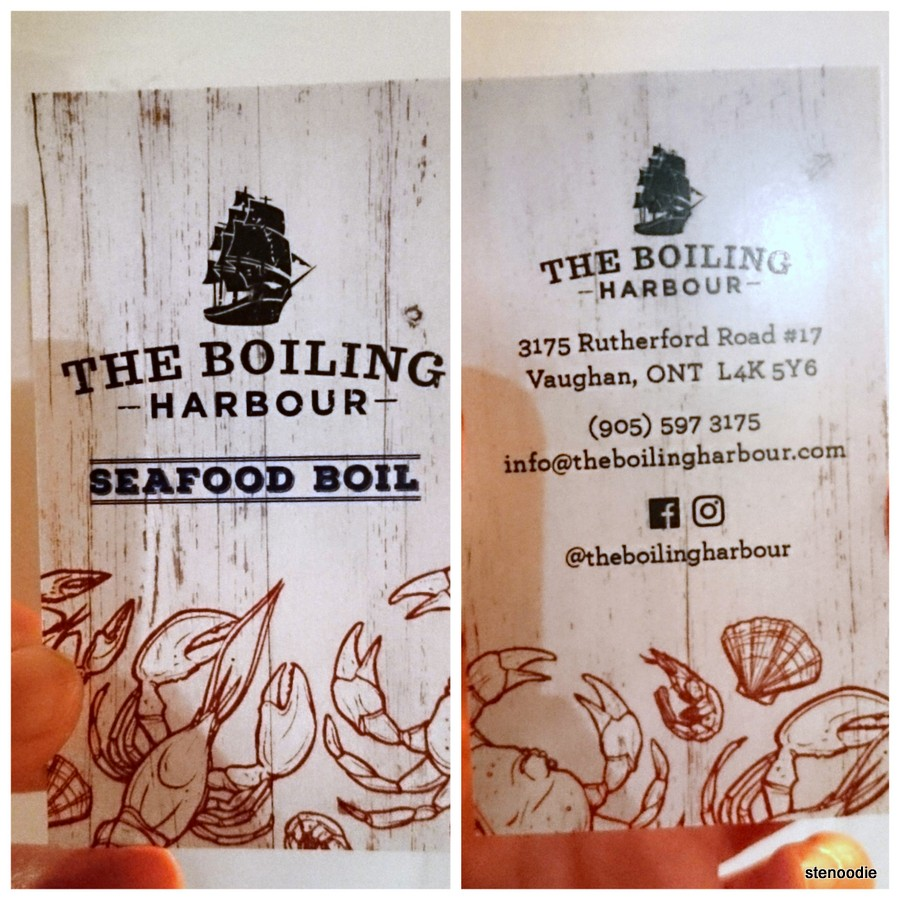 The Boiling Harbour details