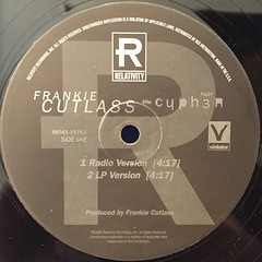 FRANKIE CUTLASS:THE CYPHER PT.3(LABEL SIDE-A)