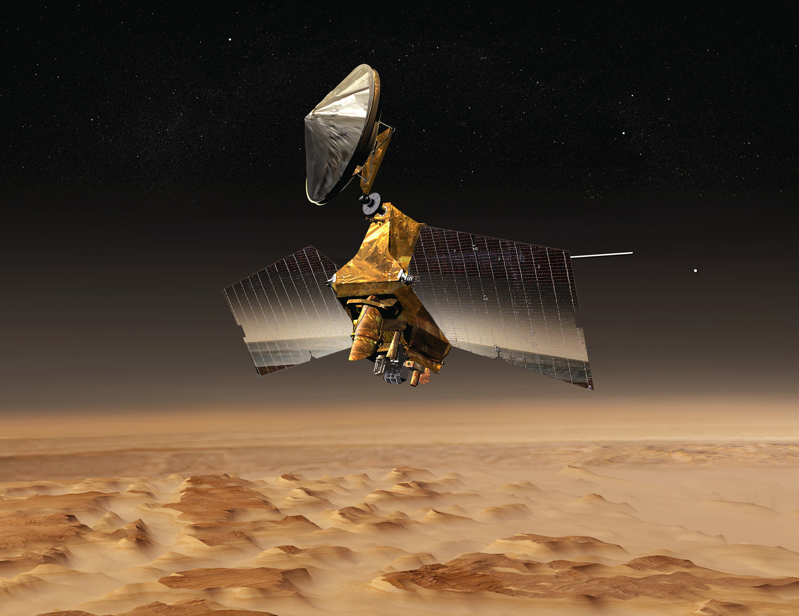 Mars Reconnaissance Orbiter PIA04916