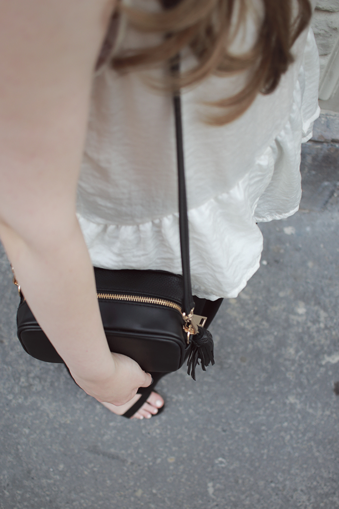 Culottes and ruffle top