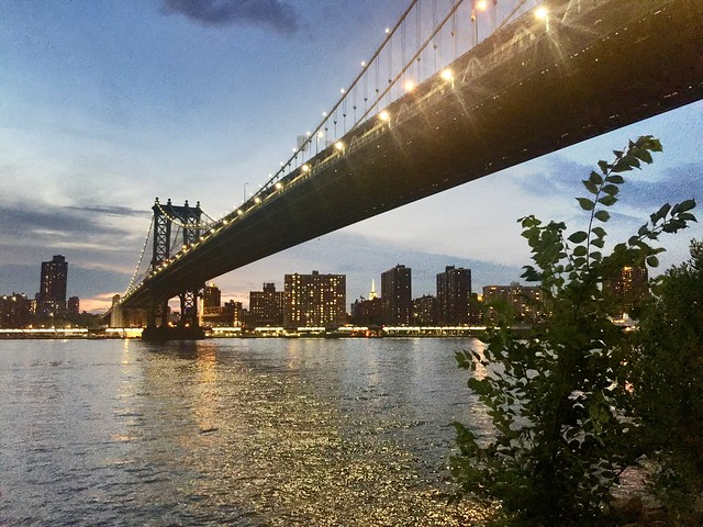 Manhattan Bridge, July 2016